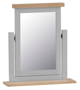 Thornby Trinket Mirror - in Grey or White
