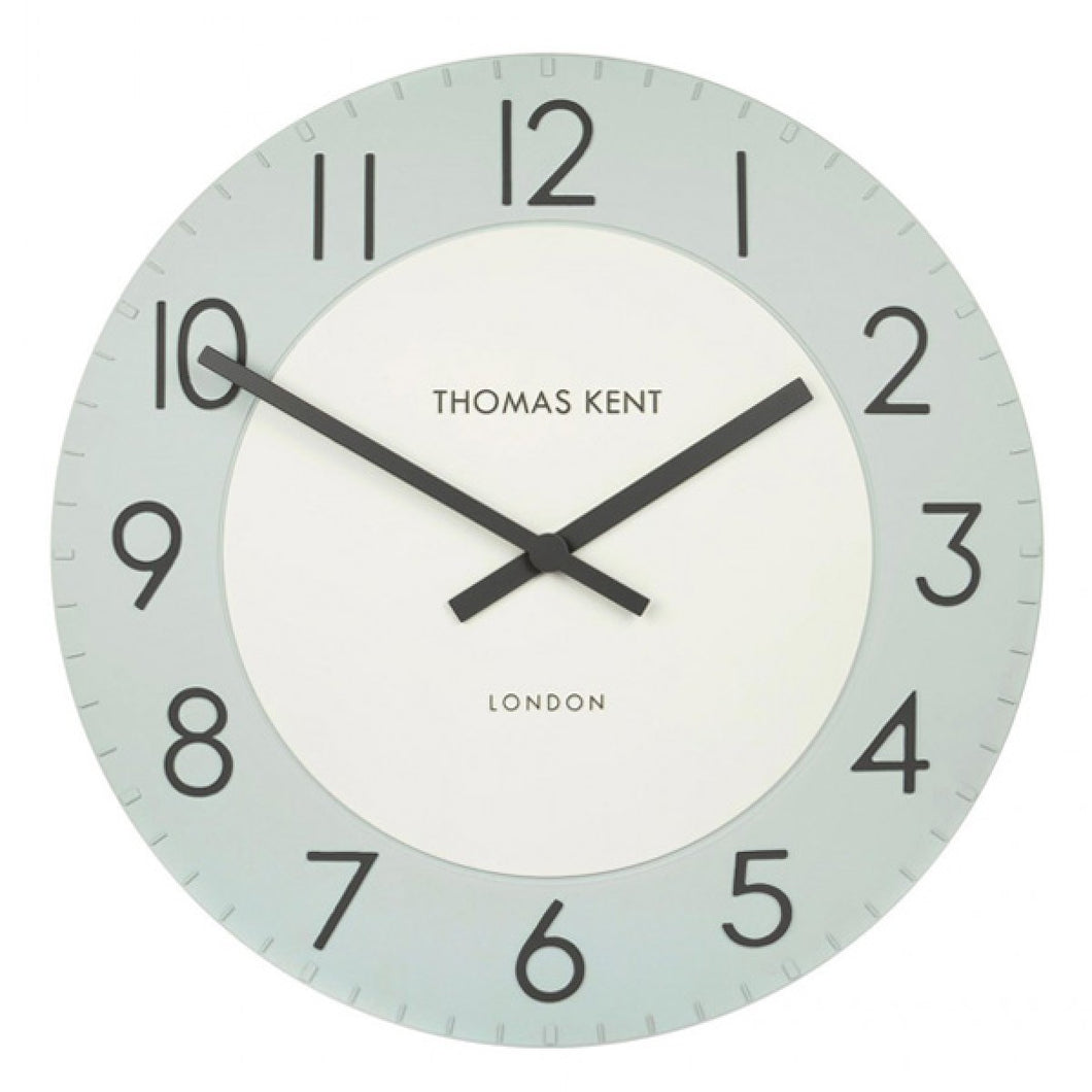 Townhouse Wall Clock - Stonewash