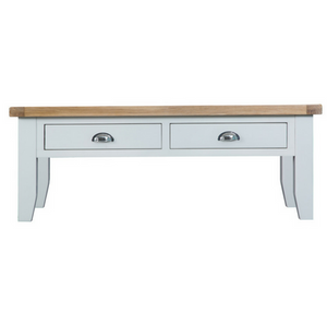Thornby Large Coffee Table in Grey or White