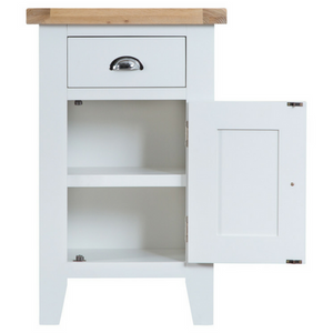 Thornby Small Cupboard in Grey or White