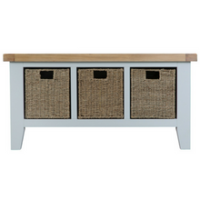 Thornby Large Hall Bench in Grey or White