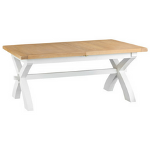 Oak White Wash Dining Table