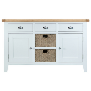 Thornby Large Sideboard in Grey or White