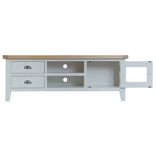 Thornby Large TV Unit in Grey or White