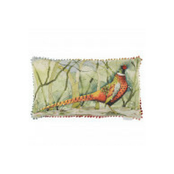 Calling Pheasant Cushion