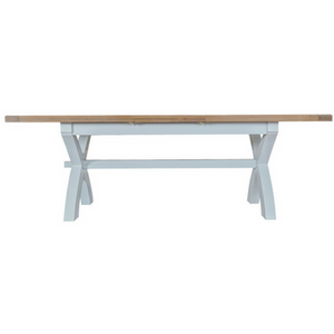 Oak wash extending table