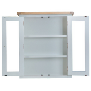 Thornby Small Dresser Top in Grey or White with Lights