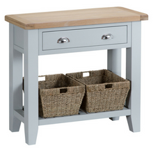 Thornby Console Table in Grey or White