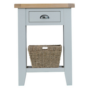 Thornby Telephone Table in Grey or White