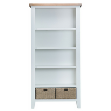 Thornby Large Bookcase in Grey or White