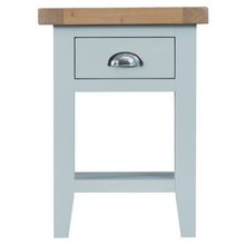 Thornby Side Table in Grey or White