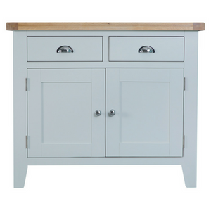 Oak Top Chrome Handle Sideboard Yorkshire