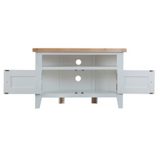 Thornby Corner TV Unit in Grey or White