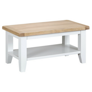 Thornby Small Coffee Table in Grey or White