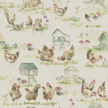 Soft Roll Blind - Henny Penny Linen