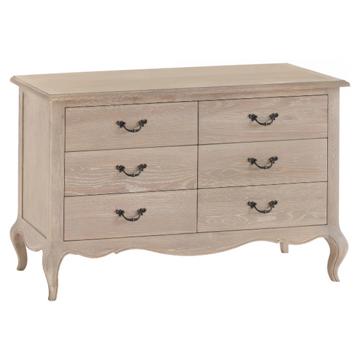 French Country 6 Drawer Chest