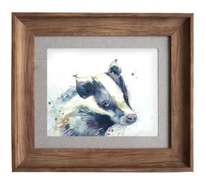 Badger Framed Art