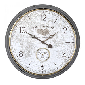 The World Traveller Wall Clock