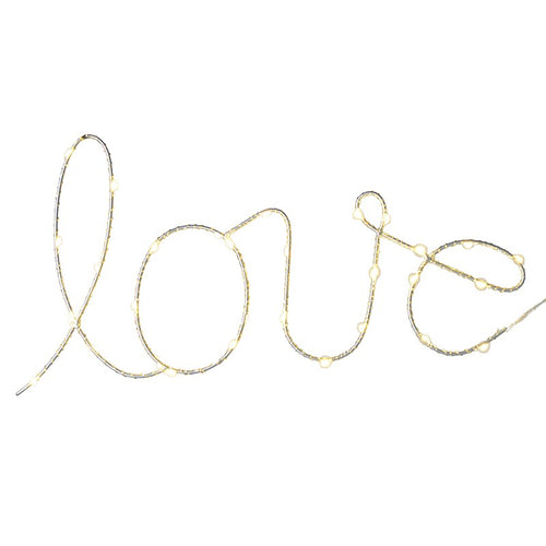 'Love' LED string
