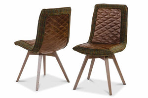 Fabric/Leather Dining Chair 3