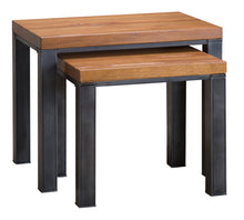 Abbey Industrial Nest of 2 Tables