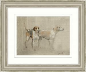 'At The Ready' Framed Art