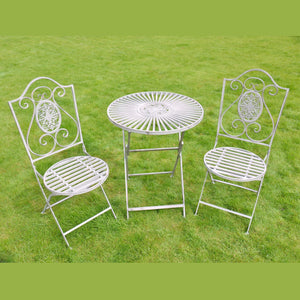 Bellflower Bistro Set with 2 chairs