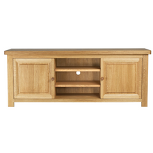 Brittany Plasma TV Unit - Painted or Wood Finish