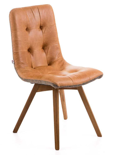 Fabric/Leather Dining Chair 1