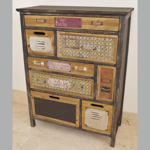 French Rustic Apothecary cabinet