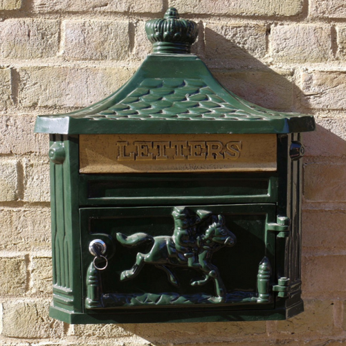 Green Post box - Outdoor