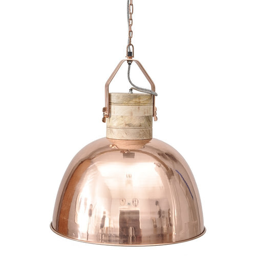 Merle Medium Copper Ceiling Pendant