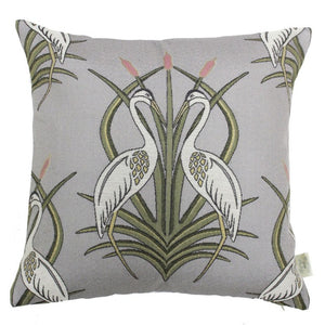 Heron Cushion - Grey