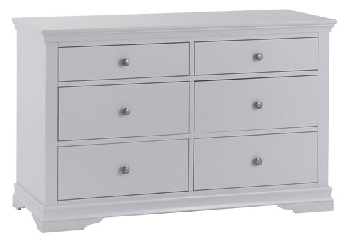Swan 6 Drawer Chest (Grey/White)
