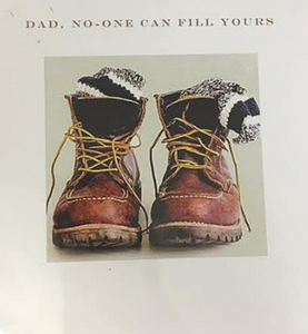 'Dad, no-one can fill yours' - Card