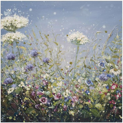 Busy Bees Large Canvas