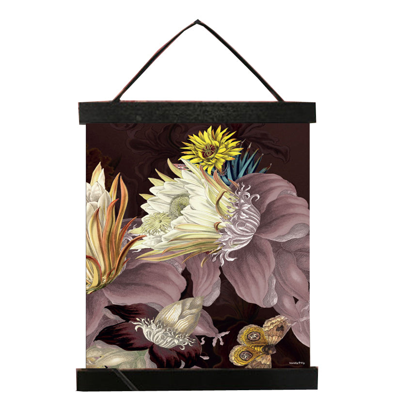 Flower poster in Hanger