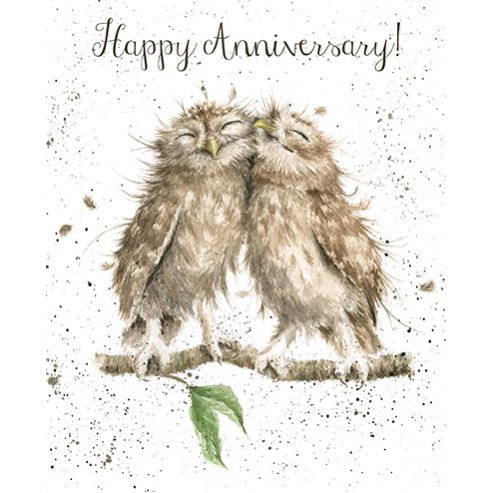 Happy Anniversary Wrendale designs - card