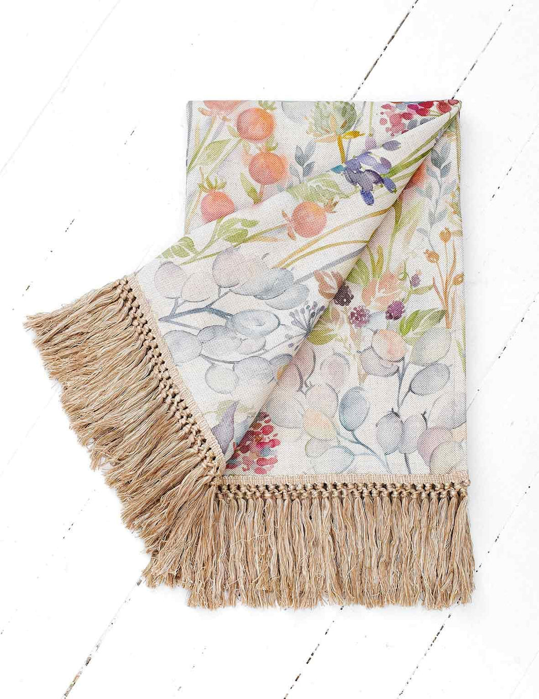 Voyage Hedgerow Linen Throw