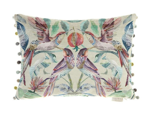 Hummingbird Loganberry Cushion