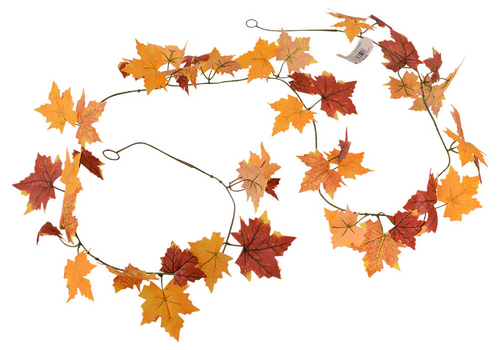 Autumn Mixed Leaf garland