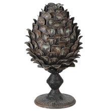 Distressed Artichoke Candle Holder