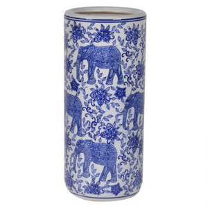Bengali Blue and White Umbrella stand