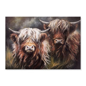 Two Highland Lasses