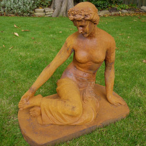 Sitting Lady - Outdoor