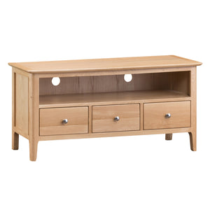 Nordic Large TV Cabinet - Oak or Painted