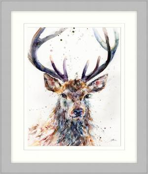 Majestic Stag Framed Art