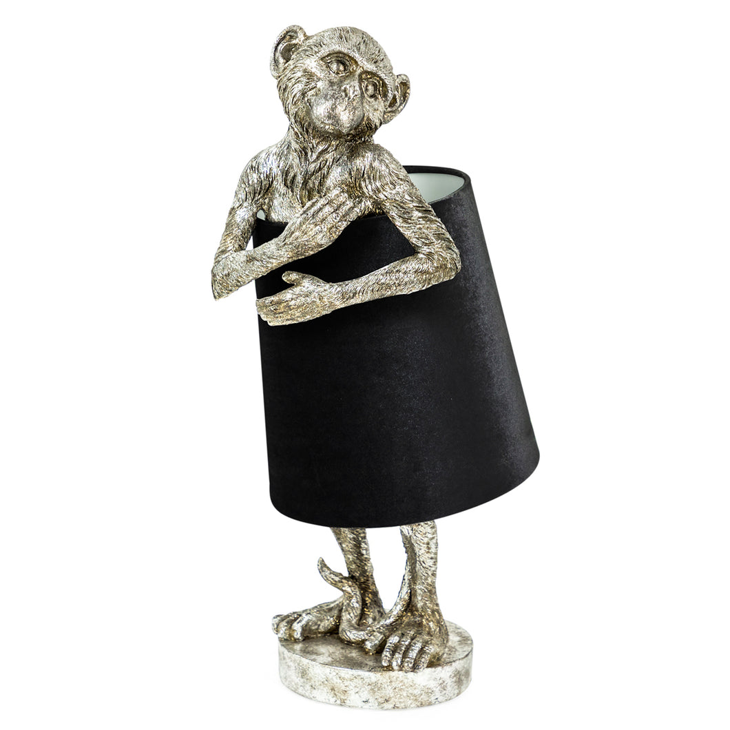Bashful Monkey Lamp
