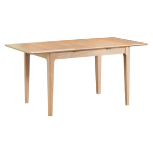 Nordic 1.2m Butterfly Extending Table - Oak or Painted