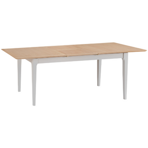 Nordic Oak Painted 1.6m Butterfly Extending Table